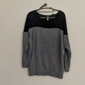 Forever 21 Color blocked Pullover Sweater